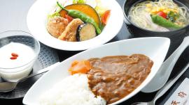 鶏からラーメン・ごはんセット(排骨麺風)