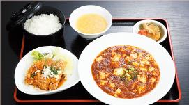 四川マーボ豆腐・油淋鶏セット